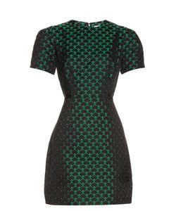 Mary Katrantzou | Azurite Short-Sleeved Jacquard Dress