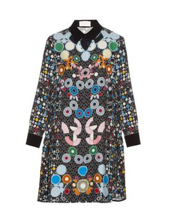 Peter Pilotto | Ace Geometric-Print Crepe Dress