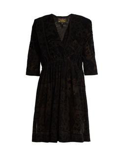 Vivienne Westwood Anglomania | Harima Tribal-Devoré Crepe Dress