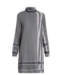 Cecilie Copenhagen   Claremint Scarf-Jacquard Cotton Dress
