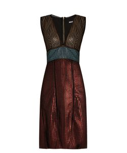 House Of Holland | Chain-Mail Knit Dress