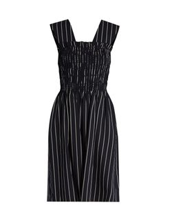 TRADEMARK | Dylan Striped Wool-Blend Dress