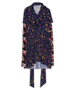 VETEMENTS | Floral-Print Long-Sleeved Dress
