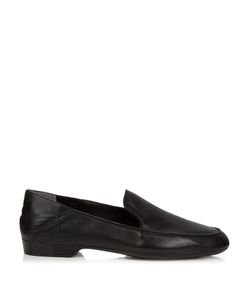 Robert Clergerie | Fani Collapsible-Heel Leather Loafers