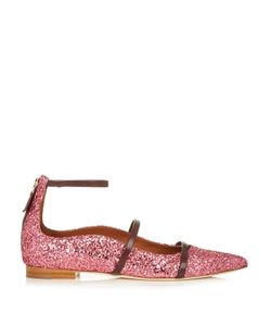 Malone Souliers | Robyn Point-Toe Glitter Flats