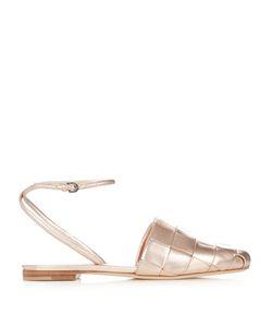 Marco de Vincenzo | Woven-Leather Flat Sandals