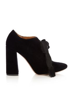 Chloé | Harper Lace-Up Velvet Pumps