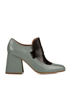 Marni | Leather Block-Heel Pumps