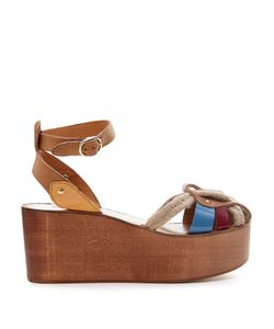 Isabel Marant | Étoile Zelie Rope And Leather Wedges