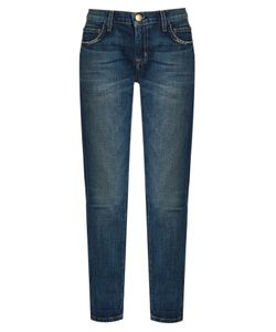 Current/Elliott | The Fling Low-Slung Straight-Leg Jeans