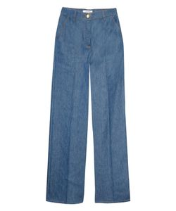 Valentino | High-Waisted Wide-Leg Jeans