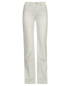 FRAME | San Simion High-Rise Wide-Leg Jeans