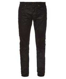 Saint Laurent | Waxed Skinny Jeans