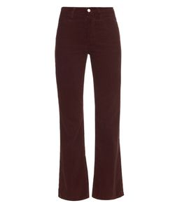 Alexa Chung for AG | The Revolution High-Rise Flared Corduroy Jeans
