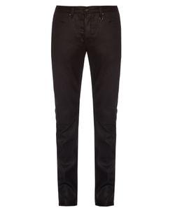 John Varvatos | Mid-Rise Slim-Leg Jeans