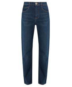 Chloé | Mid-Rise Straight-Leg Jeans
