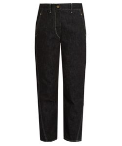 Lemaire | High-Rise Straight-Leg Jeans