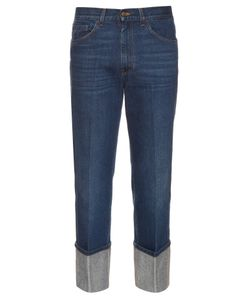 Gucci | Straight-Leg Turn-Up Jeans