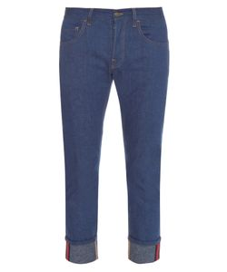 Gucci | Tapered-Leg Turn-Up Jeans