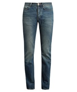 Paul Smith | Mid-Rise Slim-Leg Jeans