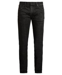 Mastercraft Union | Slim Tapered-Leg Crinkled Jeans