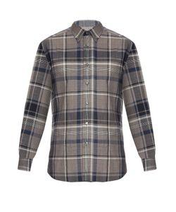 Brioni | Checked Cotton Shirt