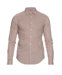 Burberry London | Southbrook Micro-Dot Print Cotton Shirt