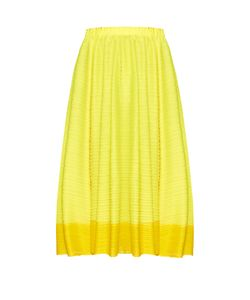 Pleats Please By Issey Miyake | Citrus Fruits Pleated Skirt