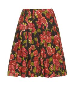 Emilia Wickstead | Polly Floral-Print A-Line Skirt