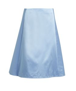 Nina Ricci | A-Line Silk Duchess-Satin Skirt