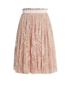 Alexander McQueen | Pleated Lace Skirt