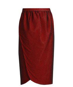 EMILIO DE LA MORENA | Salma Wrap-Front Knee-Length Skirt