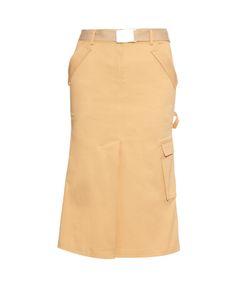 Rosie Assoulin | Cotton-Twill Midi Skirt