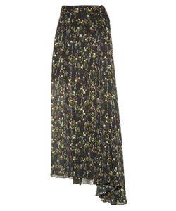 Preen by Thornton Bregazzi | Merrick Floral-Print Georgette Skirt