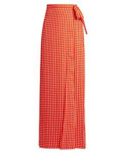 Preen by Thornton Bregazzi | Agnel Wrap Maxi Skirt