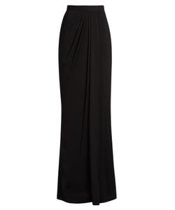 Alexander McQueen | High-Rise Draped Maxi Skirt