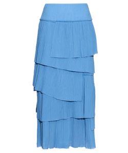 Sonia Rykiel | Tiered Pleated-Cotton Skirt