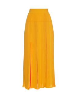 Sonia Rykiel | Pleated Ribbed-Knit Skirt