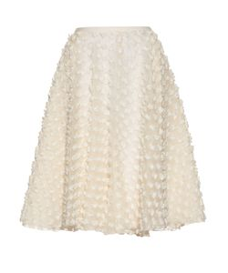 Rochas | Textured-Fabric A-Line Skirt