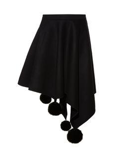 Marni | Asymmetric Pompom Skirt