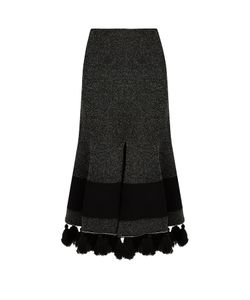Proenza Schouler | Tasselled-Hem Flared Skirt