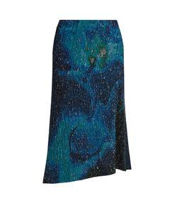 Issey Miyake | Cosmos-Print Pleated Midi Skirt
