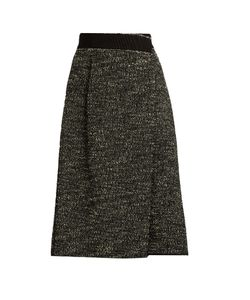 Marc Jacobs | Bouclé Tweed Wool-Blend Skirt