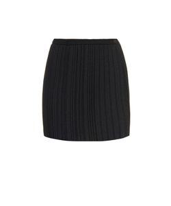 Marco de Vincenzo | Pleated Crepe Mini Skirt