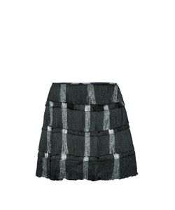 Marco de Vincenzo | Tiered Fringed Mini Skirt