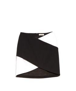 Mugler | Bi-Colour Cady Mini Skirt