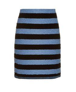 Sonia Rykiel | Stretch-Bouclé Striped Skirt
