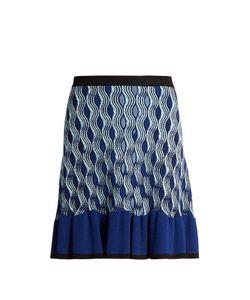 Mary Katrantzou | Pollie Snuffbox-Print Knitted Skirt