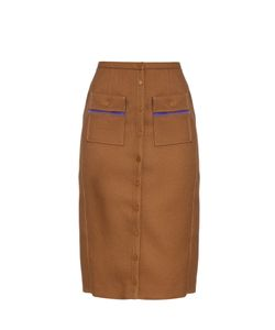 Marco de Vincenzo | Buttoned High-Rise Skirt