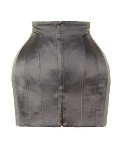 Balmain | Structured Satin Mini Skirt